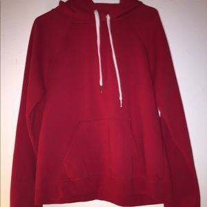 Red Forever 21 Hoodie